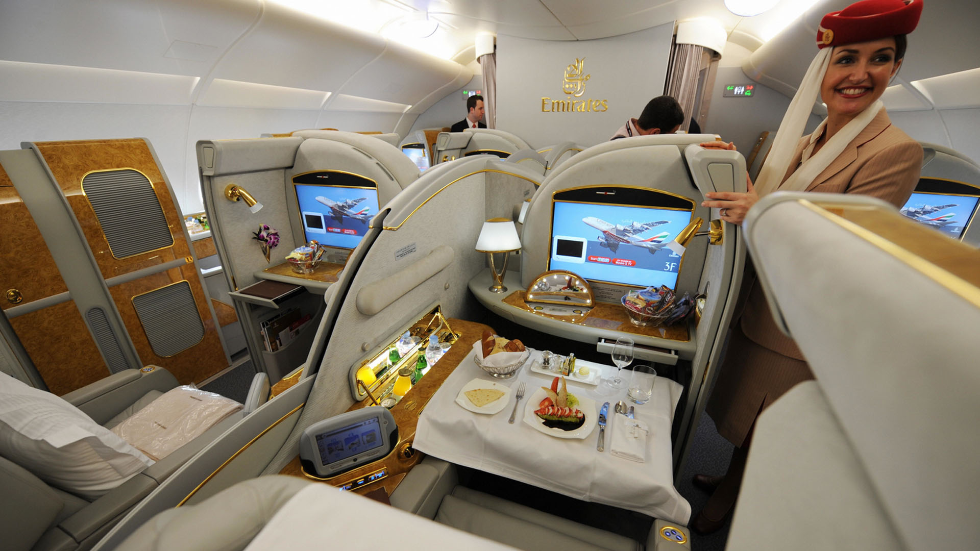 Emirates first-class
