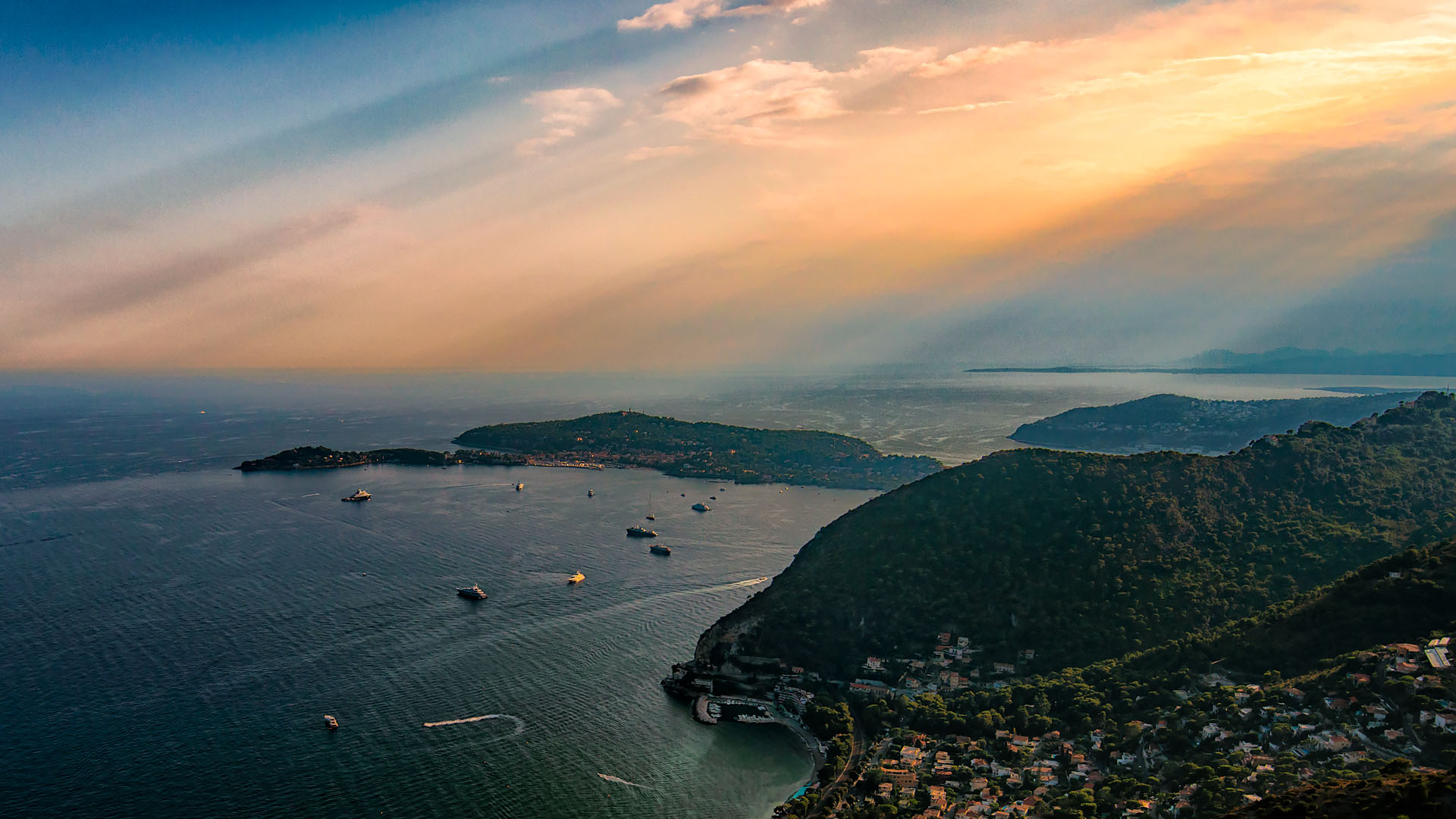 View from Eze, French Riviera